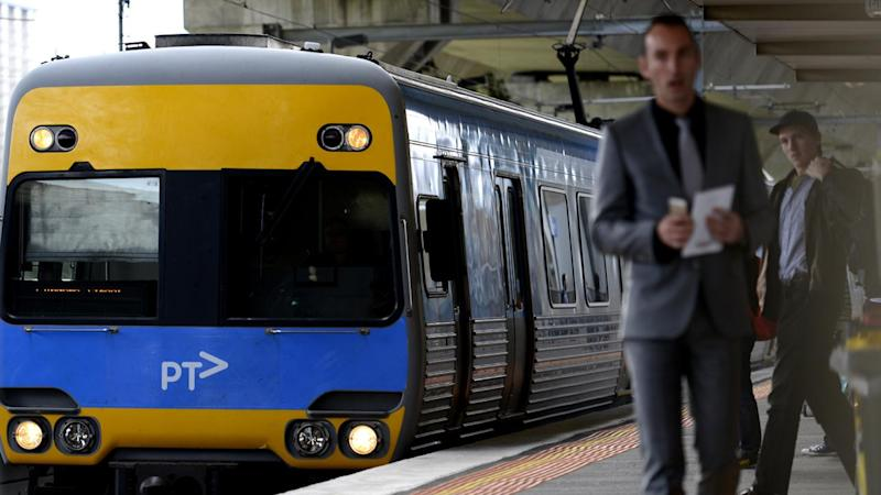 A power outage has forced two train lines to be suspended in Melbourne.