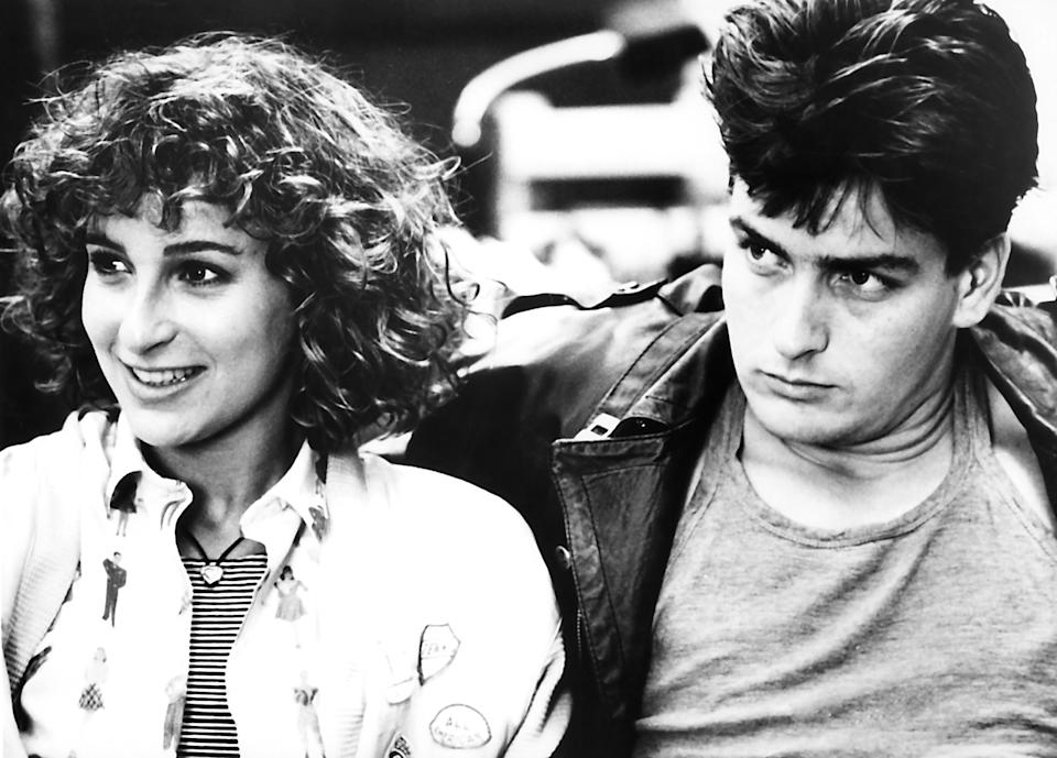 Jennifer Grey and Charlie Sheen in a memorable scene from Ferris Bueller's Day Off (Photo: Paramount/Courtesy Everett Collection)