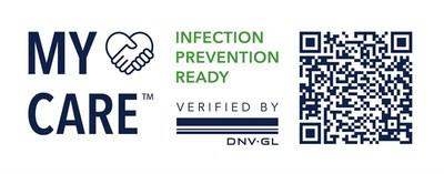 Scan to check the readiness statement of Viking Line verified by DNV GL