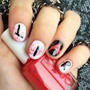 """<p>Whether you're paying homage to your favorite TV show or simply want to passive-aggressively creep out your friends, try this Halloween-ready take on nail lettering.</p><p><a class=""""link rapid-noclick-resp"""" href=""""https://www.amazon.com/Winstonia-Professional-Striping-Blending-Elongated/dp/B00GD0IQQ6/ref=sr_1_3_a_it?tag=syn-yahoo-20&ascsubtag=%5Bartid%7C10055.g.1421%5Bsrc%7Cyahoo-us"""" rel=""""nofollow noopener"""" target=""""_blank"""" data-ylk=""""slk:SHOP NAIL ART BRUSHES"""">SHOP NAIL ART BRUSHES</a></p><p><a href=""""https://www.instagram.com/p/6QizJqqJU9/?taken-by=essiepolish&hidecaption=true"""" rel=""""nofollow noopener"""" target=""""_blank"""" data-ylk=""""slk:See the original post on Instagram"""" class=""""link rapid-noclick-resp"""">See the original post on Instagram</a></p>"""