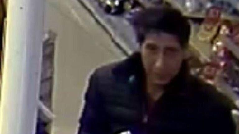 This beer thief looked a lot like a certain <i>Friends</i> star (Blackpool Police)