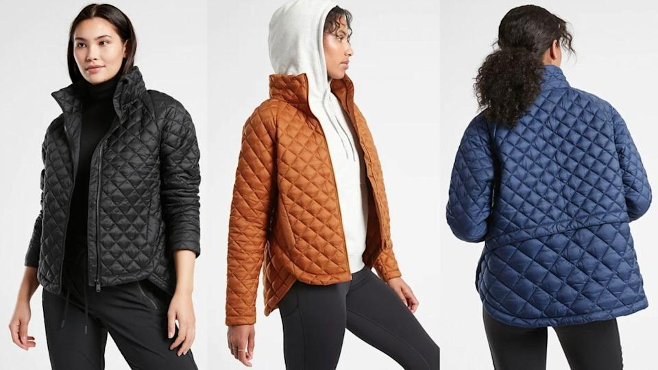 The Whisper Featherless Jacket is like a lighter version of your go-to puffer coat.