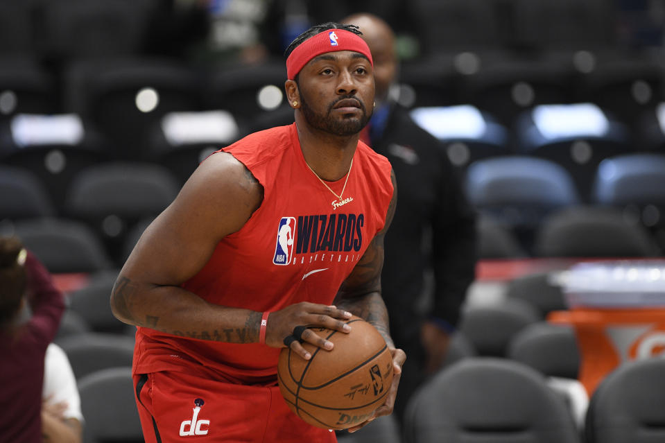 Washington Wizards guard John Wall