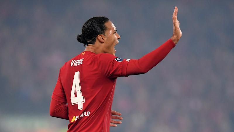 Klopp says Van Dijk is standout candidate above Messi for Ballon d'Or glory