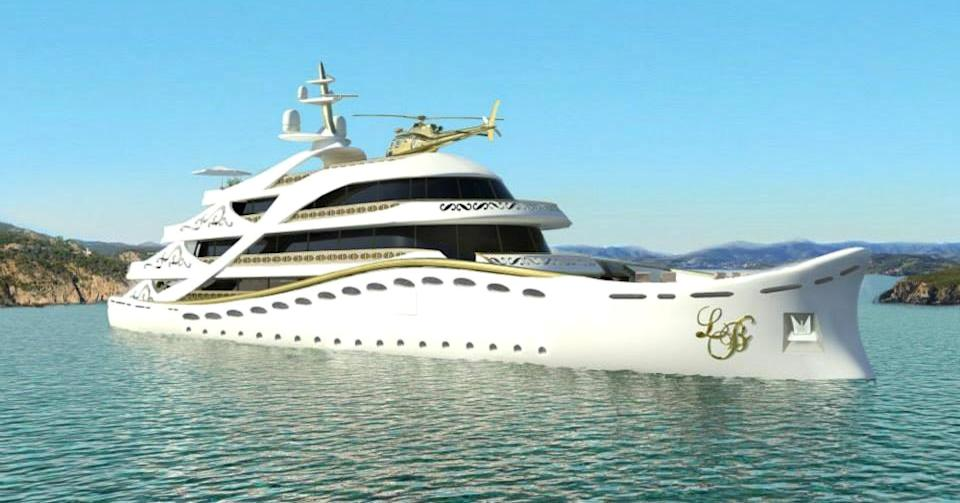 Up until now, the superyacht market has been skewed toward the male multimillionaire but one designer has plans for a boat just for women.