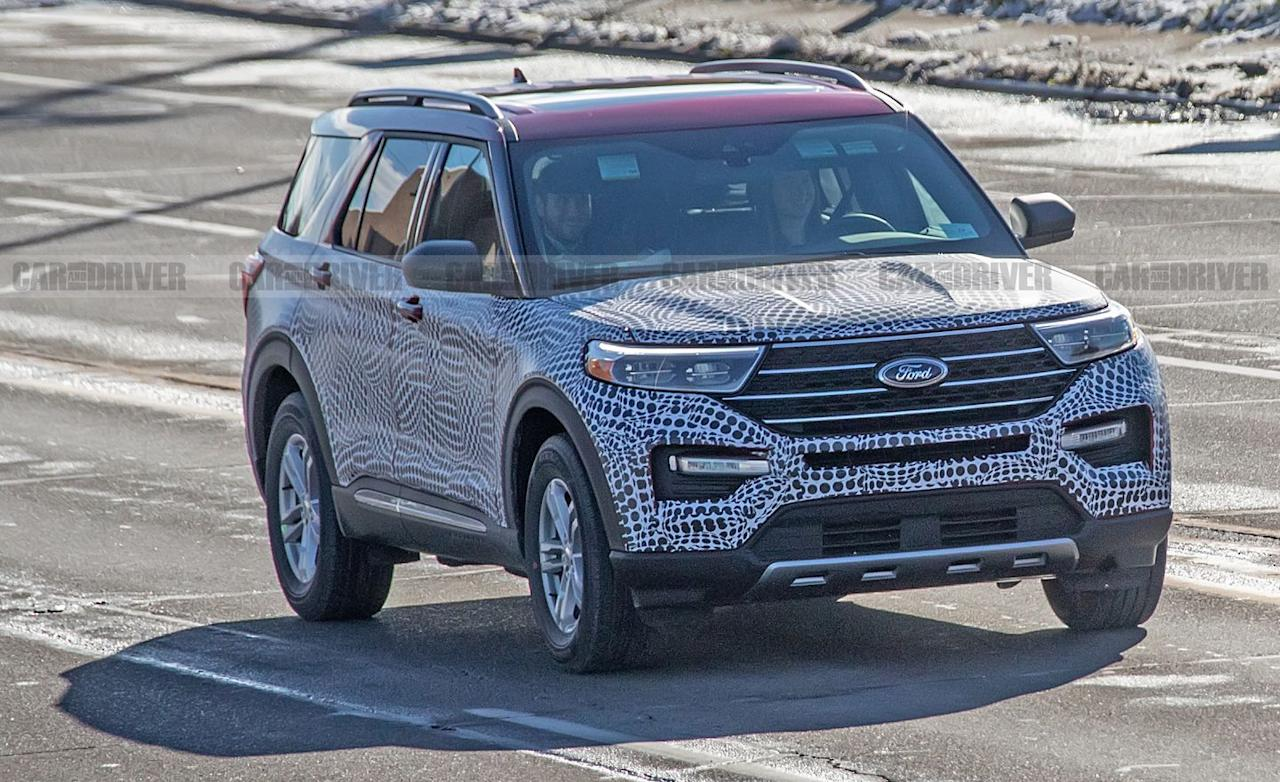 <p>The current Explorer's ancient Volvo-derived front-wheel-drive platform is being jettisoned in favor of a new rear-wheel-drive-based architecture that changes the Explorer's proportions dramatically.</p>