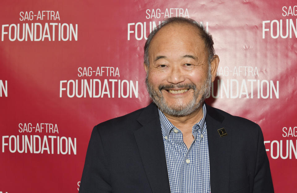 LOS ANGELES, CALIFORNIA - OCTOBER 29: Clyde Kusatsu poses for portrait at Foundation Conversations Presents Journey Of The Working Actor at SAG-AFTRA Foundation Screening Room on October 29, 2019 in Los Angeles, California. (Photo by Rodin Eckenroth/Getty Images)