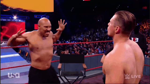 "When LaVar Ball went on ""Monday Night Raw,"" he was completely unscripted, which is not how professional wrestling works. (WWE)"