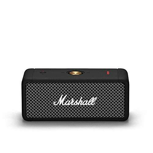 """<p><strong>Marshall</strong></p><p>amazon.com</p><p><strong>$129.99</strong></p><p><a href=""""https://www.amazon.com/dp/B08B951D35?tag=syn-yahoo-20&ascsubtag=%5Bartid%7C10049.g.36741989%5Bsrc%7Cyahoo-us"""" rel=""""nofollow noopener"""" target=""""_blank"""" data-ylk=""""slk:Shop Now"""" class=""""link rapid-noclick-resp"""">Shop Now</a></p><p>This portable speaker may be little, but she is <em>powerful</em>. And, not to mention, super chic!</p>"""