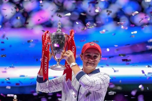 Breakthrough year: World number one Ash Barty wins the WTA Finals in Shenzhen last week and now wants to cap her wonderful 2019 by leading Australia to Fed Cup victory