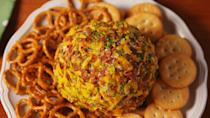 """<p>Honestly, I don't know why we didn't think of this sooner.</p><p>Get the recipe from <a href=""""https://www.delish.com/cooking/recipe-ideas/recipes/a53407/dill-pickle-cheeseball-recipe/"""" rel=""""nofollow noopener"""" target=""""_blank"""" data-ylk=""""slk:Delish"""" class=""""link rapid-noclick-resp"""">Delish</a>.</p>"""