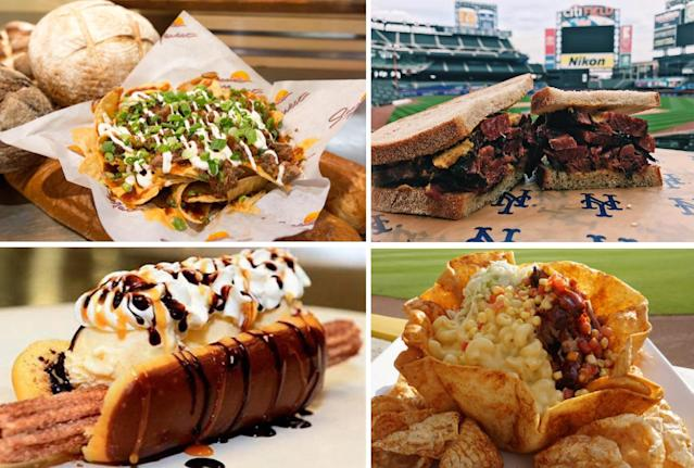Major League Baseball is launching MLB Food Fest, an event that will showcase the best stadium food from all 30 MLB teams. (MLB)
