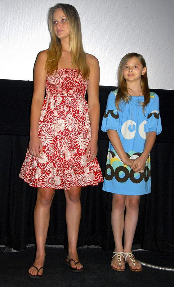 """<p>Lawrence stars as the big sister to a very young <a href=""""https://www.yahoo.com/entertainment/tagged/chloe-grace-moretz"""" data-ylk=""""slk:Chloë Grace Moretz"""" class=""""link rapid-noclick-resp"""">Chloë Grace Moretz</a> in this drama directed by Lori Petty. J.Law would win an Outstanding Performance award at the Los Angeles Film Festival — where the movie debuted on June 23, 2008. (Photo: Getty Images) </p>"""