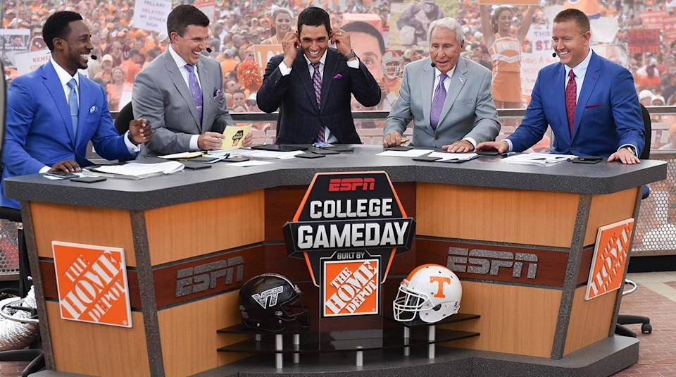 ESPN College GameDay. (Sports Illustrated)