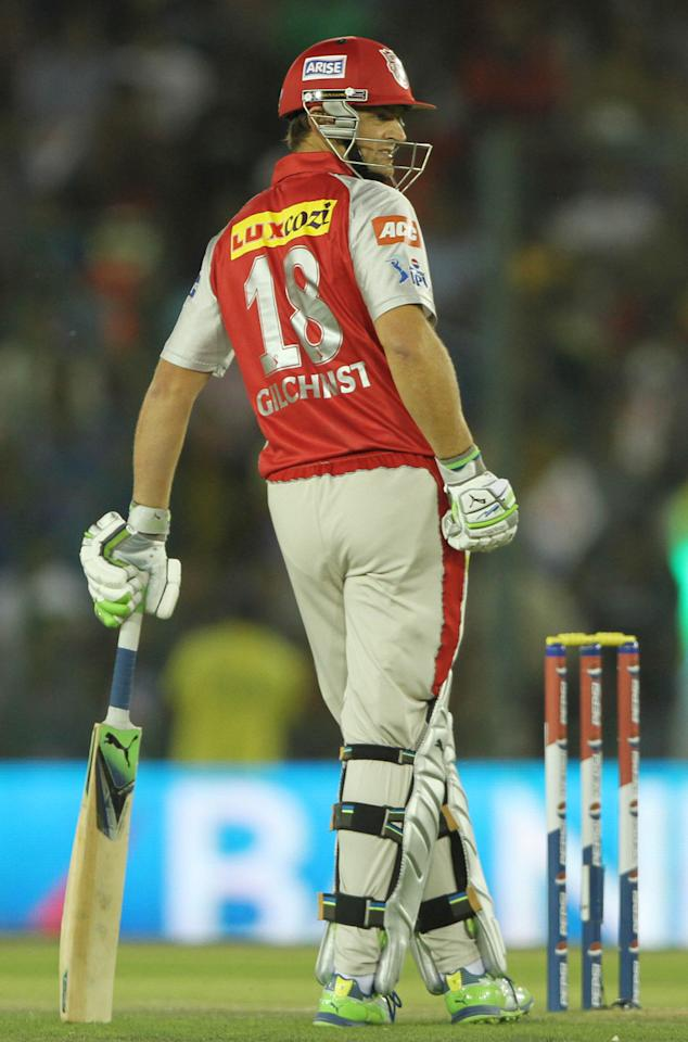 Adam Gilchrist [Kings XI Punjab]: 13 matches, 294 runs at a strike rate of 128.38. The Australian legend signed off from the IPL in style, but by the time the vintage Gilchrist came to the party, it was too late for Punjab to make a late bid for a place in the playoffs. Gilchrist was another captain in the tournament who dropped himself because of lack of form.