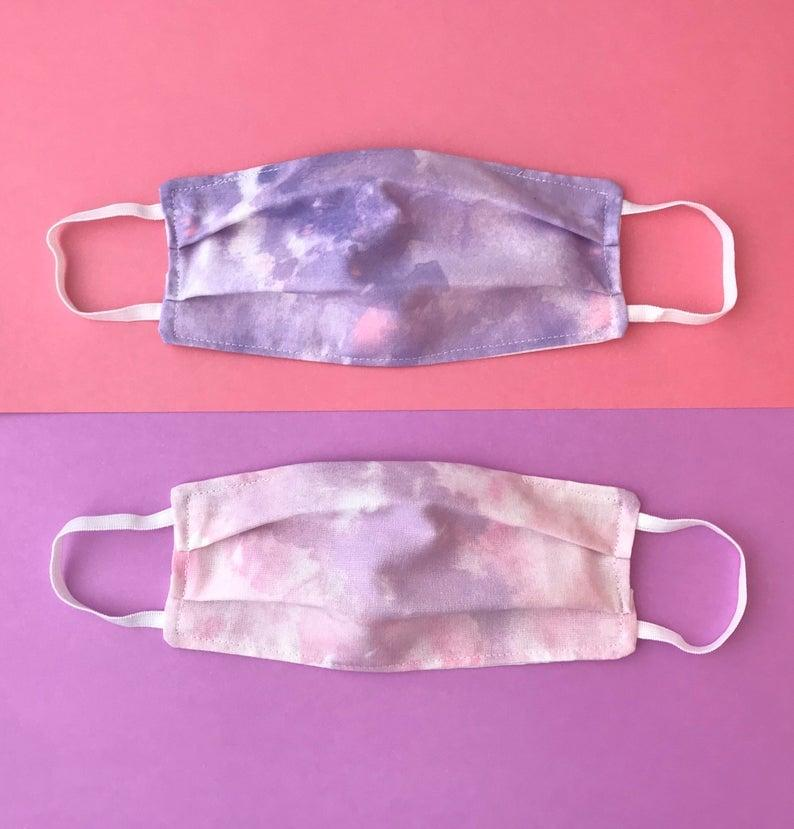 "<p>This <product href=""https://www.etsy.com/listing/805582379/tie-dye-face-mask-adult-face-mask?ga_order=most_relevant&amp;ga_search_type=all&amp;ga_view_type=gallery&amp;ga_search_query=tie+dye+face+mask&amp;ref=sr_gallery-1-5&amp;organic_search_click=1&amp;frs=1&amp;bes=1"" target=""_blank"" class=""ga-track"" data-ga-category=""Related"" data-ga-label=""https://www.etsy.com/listing/805582379/tie-dye-face-mask-adult-face-mask?ga_order=most_relevant&amp;ga_search_type=all&amp;ga_view_type=gallery&amp;ga_search_query=tie+dye+face+mask&amp;ref=sr_gallery-1-5&amp;organic_search_click=1&amp;frs=1&amp;bes=1"" data-ga-action=""In-Line Links"">Tie-Dye Face Mask </product> ($15) has excellent ratings.</p>"