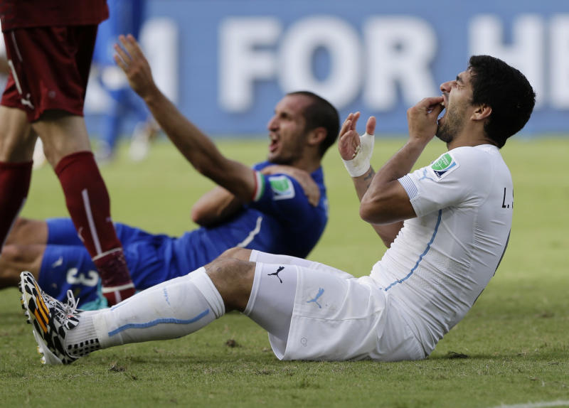 Suarez appeals FIFA ban, bite verdict next week