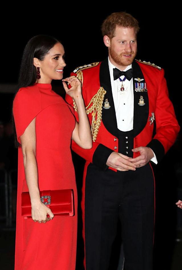 The Duke and Duchess of Cambridge have been attending a series of events in London, pictured here at the Mountbatten Festival of Music at the Royal Albert Hall. (Getty Images)