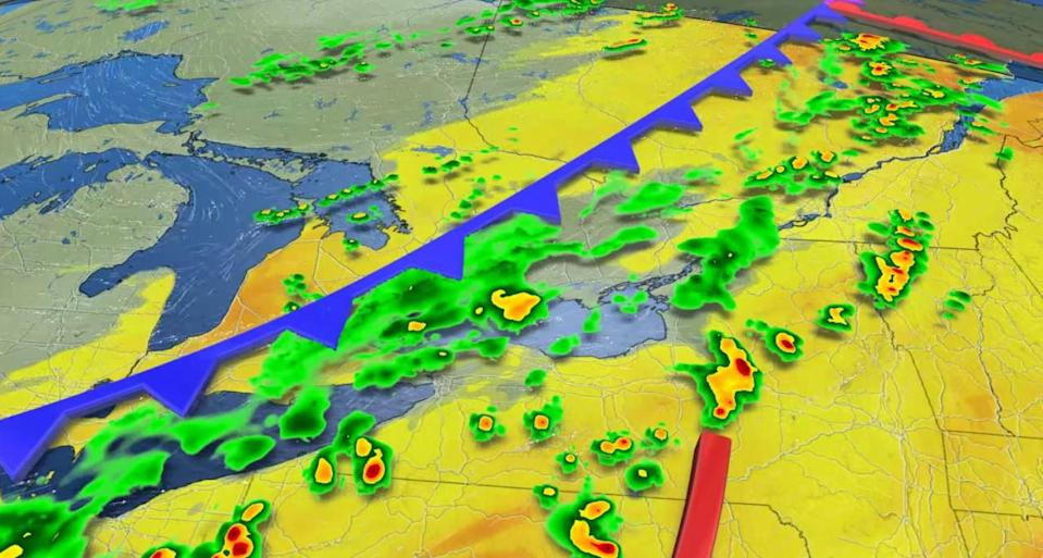 After brief storm threat, temperatures across Ontario set to plunge