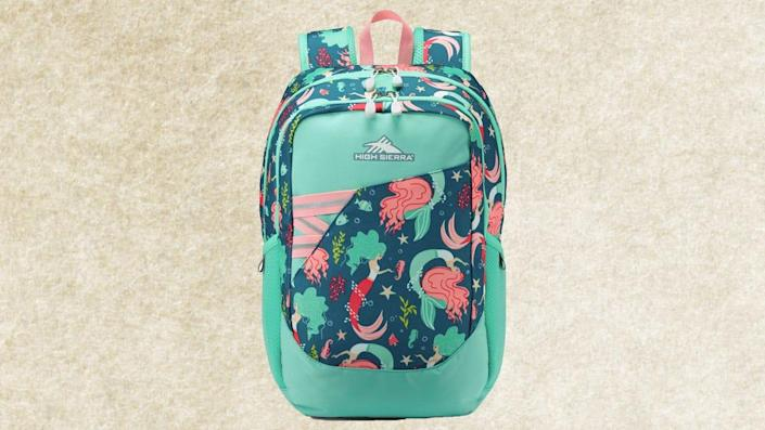A roomy backpack is a school essential for all ages.