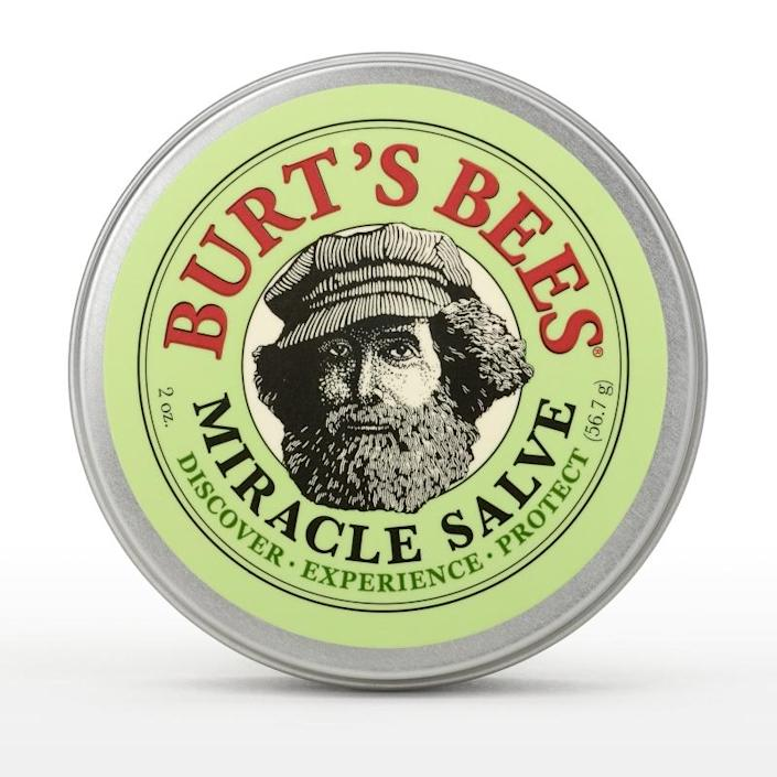 Miracle Salve Save yourself from dry hair and skin by Burt's Bees.