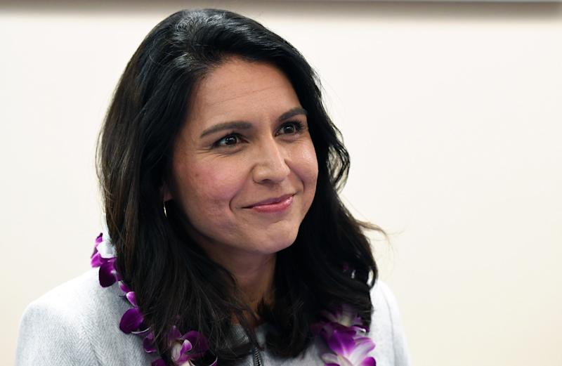 LAS VEGAS, NEVADA - MARCH 18: U.S. Rep. Tulsi Gabbard (D-HI) attends a meet-and-greet at United Way of Southern Nevada on March 18, 2019 in Las Vegas, Nevada. Gabbard is campaigning for the 2020 Democratic nomination for president. (Photo by Ethan Miller/Getty Images)