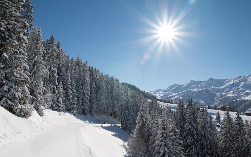 Les 3 Vallées is home to 600km of slopes in total, but not all are busy - MERIBEL ALPINA