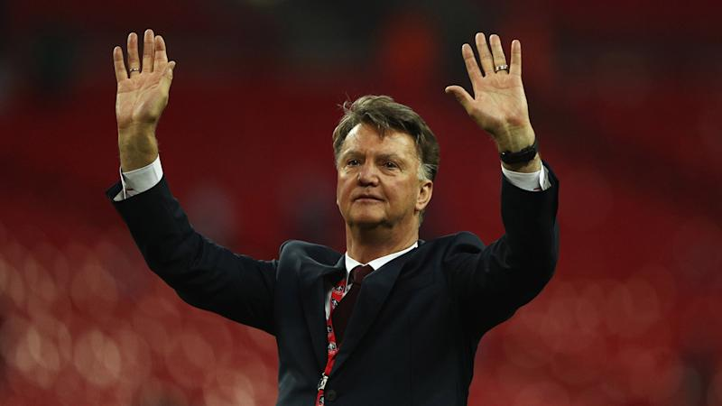 Van Gaal: I wanted Man Utd to play like Guardiola's City