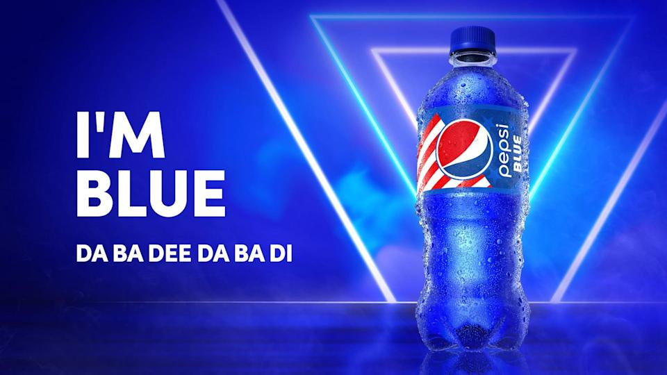 Pepsi Blue returns in early May 2021.
