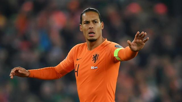 Liverpool star Virgil van Dijk captained Netherlands to a place at Euro 2020 but a personal matter has ruled him out of facing Estonia.