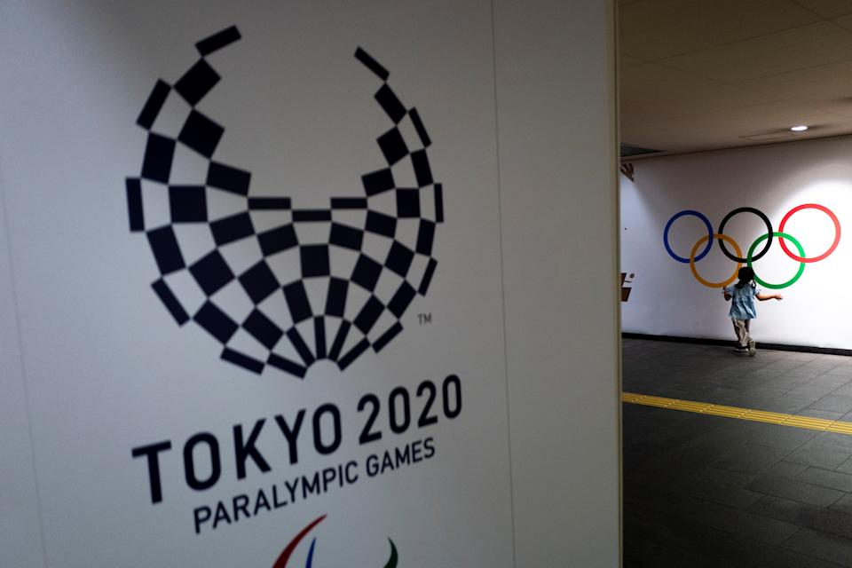 The 2020 Tokyo Paralympic Games logo.