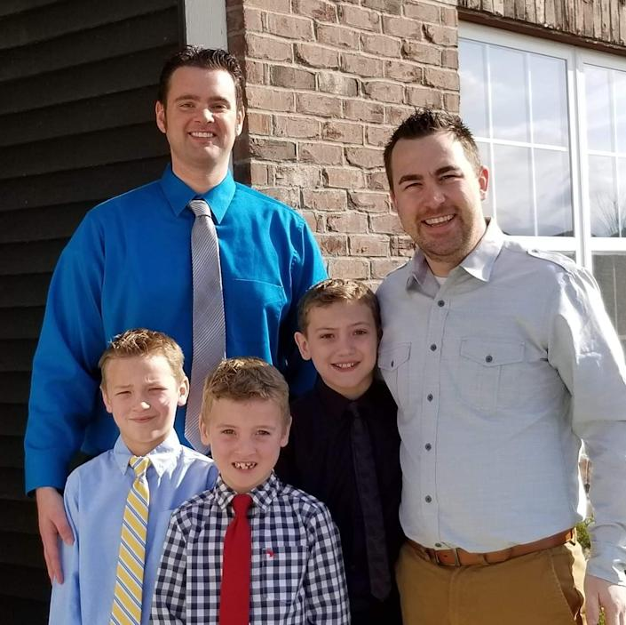 John Reynolds asked whether he and his partner, John McClanahan, and their three kids would be welcome at Towne View Baptist Church in Kennesaw, Ga.
