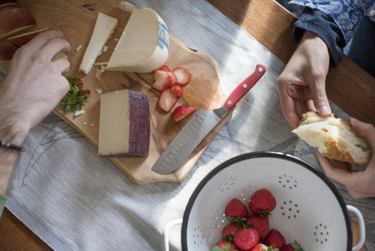 Who doesn't love a good cheese board? [Photo: Getty]