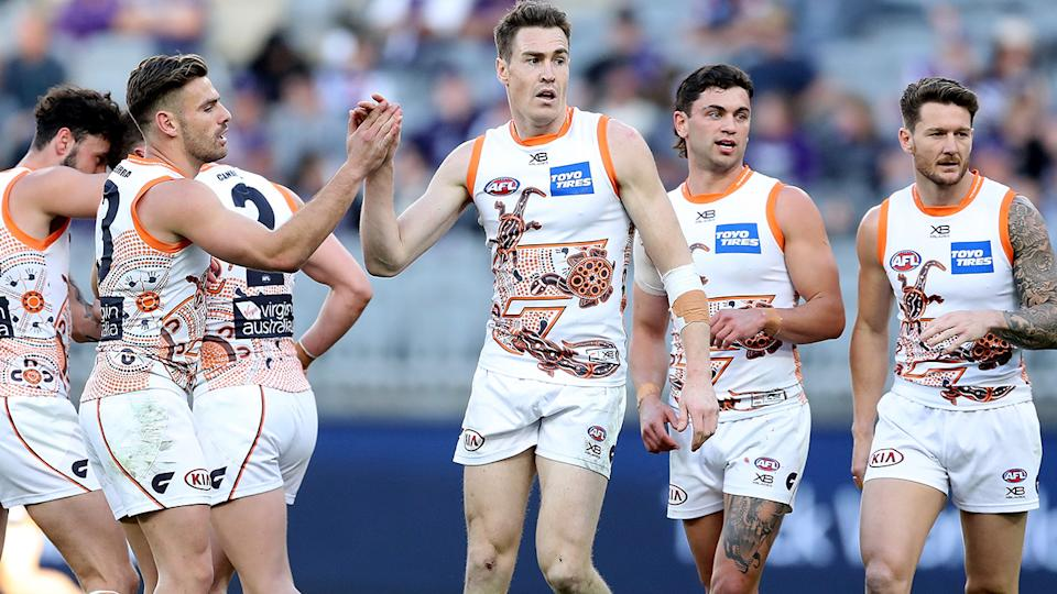 Jeremy Cameron has been among the Giants' best players since the club's debut season in 2012. (Photo by Will Russell/AFL Photos via Getty Images)