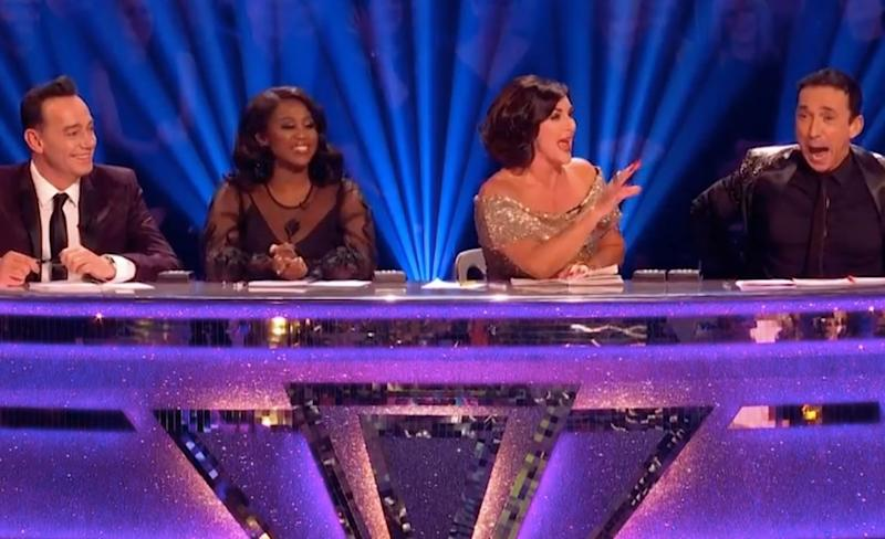 The judges' faces said it all... (Photo: BBC)