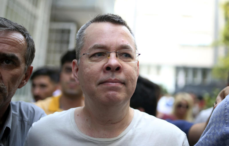 Trump threatens Turkey sanctions over pastor Andrew Brunson