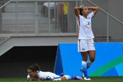 USA women's football stunned by Sweden on penalties in Rio