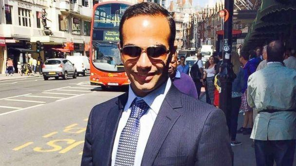 PHOTO: This undated image posted on his Linkedin profile shows George Papadopoulos posing on a street of London.<p>(AFP/Getty Images)