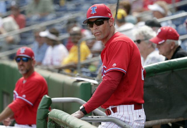 Things haven't been easy for Gabe Kapler and the Phillies early on. (AP Photo)
