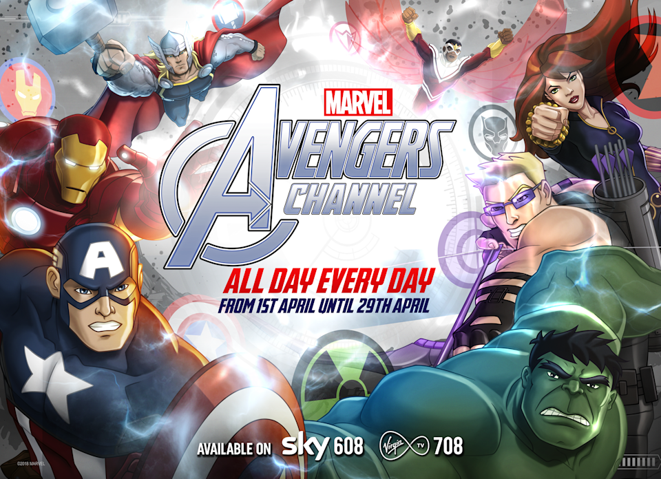 Avengers, all day, every day. (Disney)