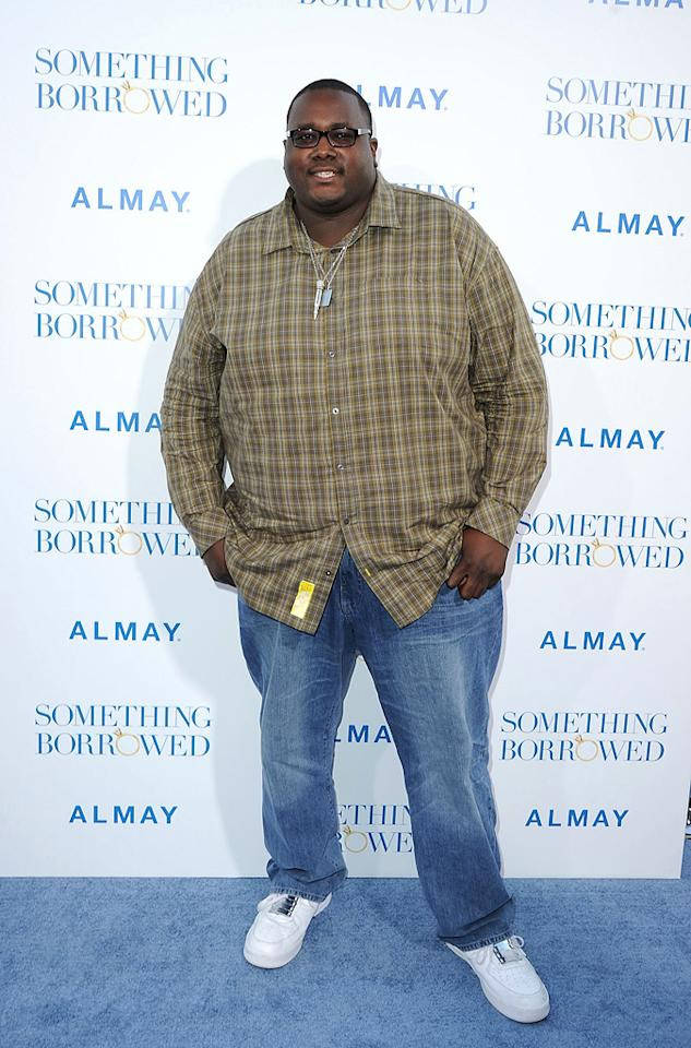 "<a href=""http://movies.yahoo.com/movie/contributor/1810098051"">Quinton Aaron</a> attends the Los Angeles premiere of <a href=""http://movies.yahoo.com/movie/1810158033/info"">Something Borrowed</a> on May 3, 2011."