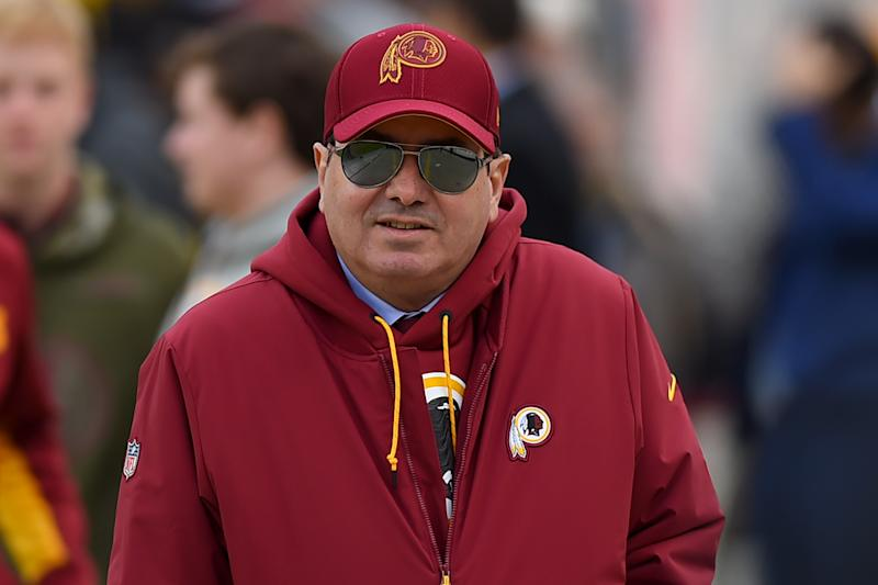 Redskins owner Daniel Snyder want sports gambling at his future Redskins stadium. (Photo by Will Newton/Getty Images)
