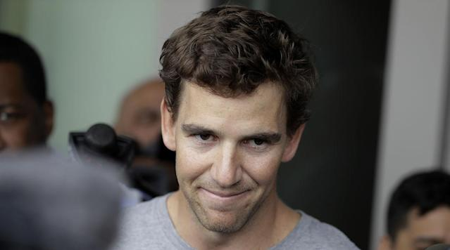 "<p>Giants quarterback Eli Manning pushed back Thursday against allegations that he took part in a scheme to provide fake game-worn memorabilia to collectors, <a href=""http://www.espn.com/nfl/story/_/id/19201922/new-york-giants-qb-eli-manning-angrily-denies-accusations-providing-fake-game-used-memorabilia"" rel=""nofollow noopener"" target=""_blank"" data-ylk=""slk:saying"" class=""link rapid-noclick-resp"">saying</a> ""I've done nothing wrong and I have nothing to hide."" </p><p>The<em> New York Post</em> <a href=""http://nypost.com/2017/04/13/heres-proof-eli-manning-was-in-on-giants-memorabilia-scheme/"" rel=""nofollow noopener"" target=""_blank"" data-ylk=""slk:reported"" class=""link rapid-noclick-resp"">reported</a> last week that it obtained court documents containing emails indicating Manning tried to pass off equipment as game-used. Manning sent the Giants' equipment manager an email in 2010 requesting ""two helmets that can pass as game used."" </p><p>The two-time Super Bowl winner said Thursday he is angry about the <a href=""http://nypost.com/2017/04/20/eli-manning-is-really-pissed-over-memorabilia-scandal/"" rel=""nofollow noopener"" target=""_blank"" data-ylk=""slk:attacks on his character"" class=""link rapid-noclick-resp"">attacks on his character</a>.</p><p>""I've tried to do everything with class and be a standup citizen,"" Manning said, <a href=""http://www.espn.com/nfl/story/_/id/19201922/new-york-giants-qb-eli-manning-angrily-denies-accusations-providing-fake-game-used-memorabilia"" rel=""nofollow noopener"" target=""_blank"" data-ylk=""slk:according to ESPN"" class=""link rapid-noclick-resp"">according to ESPN</a>. ""That's what I have done.''</p><p>The controversy—which is a <a href=""https://www.si.com/nfl/2017/04/13/new-york-giants-eli-manning-steiner-sports-memorabilia-scandal-roger-goodell"" rel=""nofollow noopener"" target=""_blank"" data-ylk=""slk:civil, not criminal offense"" class=""link rapid-noclick-resp"">civil, not criminal offense</a>—prompted a response from the Giants last week.</p><p>""The email, taken out of context, was shared with the media by an unscrupulous memorabilia dealer and his counsel who for years has been seeking to leverage a big payday,"" the team <a href=""https://twitter.com/Giants/status/852664189550284801"" rel=""nofollow noopener"" target=""_blank"" data-ylk=""slk:tweeted"" class=""link rapid-noclick-resp"">tweeted</a>. </p><p>Manning passed for 4,027 yards and 16 touchdowns last year as the Giants went 11-5. </p><p><em>-Tim Balk</em></p>"