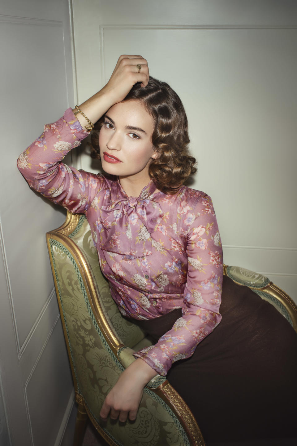 Lily James in The Pursuit Of Love (Steve Schofield/BBC Studios/PA)
