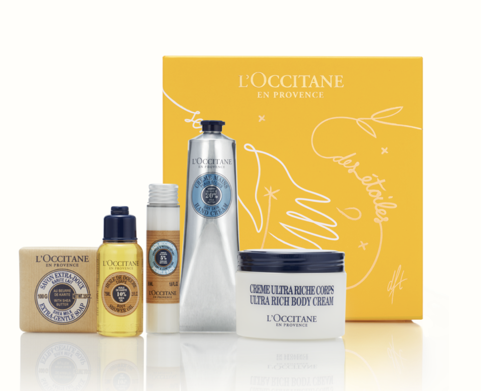 L'Occitane Shea Butter Collection, $89 (valued at $114).