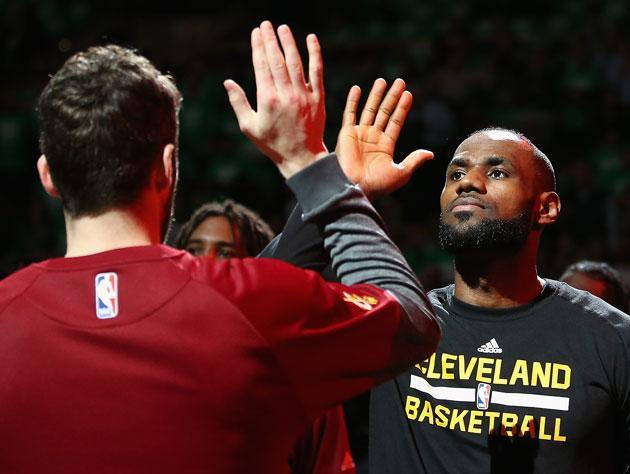 LeBron James. (Getty Images)