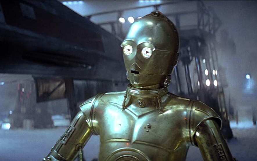 <p>Threepio is a protocol droid built by a young Anakin Skywalker... who later went on to become Darth Vader. But while his original creator turned to the dark side, C-3PO has been a loyal rebel supporter and has been featured almost all of the <em>Star Wars</em> films. </p>