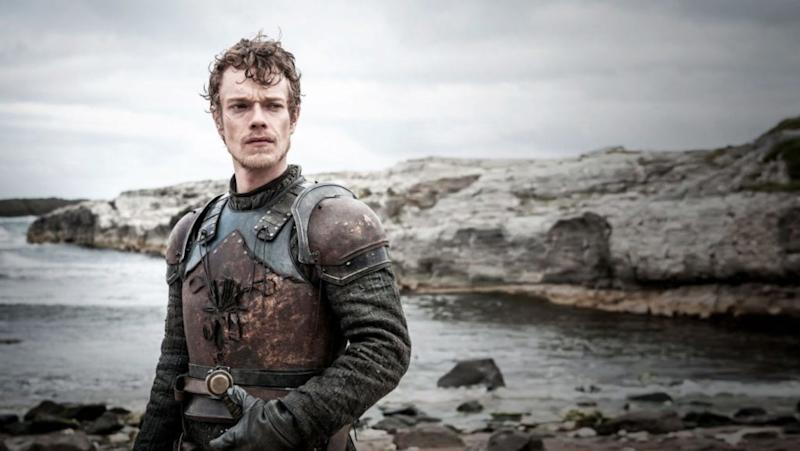Alfie Allen as Theon Greyjoy in Game of Thrones (Credit: HBO)