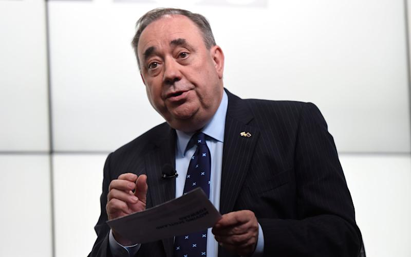 Alex Salmond  - Credit: David Rose