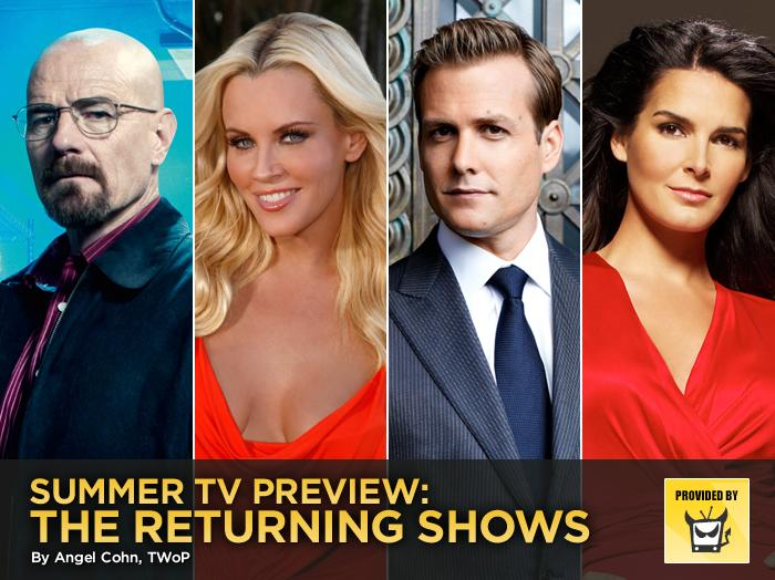 "A new season of ""Breaking Bad"" would be enough to get us excited for summer TV, but add to it new installments of everything from ""True Blood"" to ""Suits"" to ""Pretty Little Liars"" to guilty reality TV pleasures like ""Bachelor Pad"" and ""Big Brother,"" and we may not find any reason to use our sunblock this season.<span class=""st""><span>— </span><a style=""font-family:yui-tmp;"" href=""http://www.televisionwithoutpity.com/?__source=tw%7Cyhtv&par=yhtv"">Television Without Pity</a></span>"